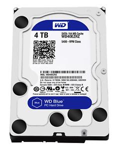 WESTERN DIGITAL BLUE HARD DISK 3,5 4TB WD40EZRZ 5400RPM 64MB SATA3