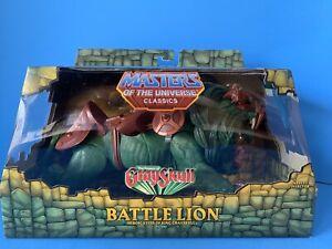 Masters of the Universe Classics Battle Lion Powers of Grayskull MOC 100% MOTUC