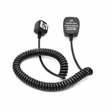 JJC FC-03 TTL Off-Camera Flash Hot Shoe Sync Cord Cable For Olympus UK Seller