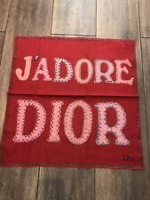 Brand New Christian Dior J'Adore Scarf Made In Italy Made In Italy