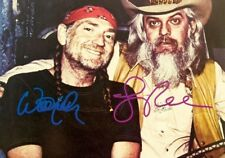 """Willie Nelson & Leon Russell 5x7 Signed Autograph Reprint Photo """"Mint"""""""