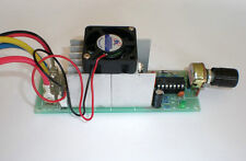 12-30V 30A DC Motor Speed Controller With Cooling Fan