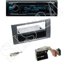 Kenwood kdc-300uv radio + ford fiesta focus 1-din diafragma antracita + ISO-adaptador