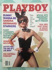 PLAYBOY US Sept 1992 - Sandra BERNHARD Morena CORWIN Fly Girls - Vol.39 No 9