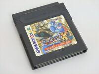 Gameboy Color Nintendo ROCKMAN X Cyber Mission Megaman GB Cartridge Only * gbc