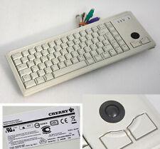 Small Keyboard Cherry ML4400 G84-4400LPBDE-0 Trackball 2x Ps/2 Server Tower K7