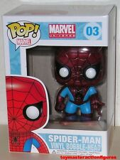 FUNKO POP Marvel THE AMAZING SPIDERMAN #03 FIGURE Large Lettering Box IN STOCK