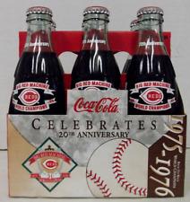 Coca-Cola Cincinnati Reds Big Red Machine 20th Anniversary Commemorative 6 Pack