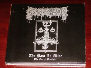 Dissection: The Past Is Alive - The Early Mischief CD 2018 Reissue Digipak NEW