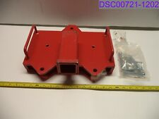 Titan Pinned Fork Receiver Hitch 2 Red Pn Flrecdbl 194115