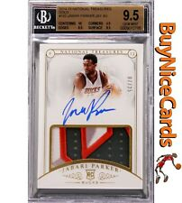2014-15 Jabari Parker National Treasures Gold RC Patch Auto /25 BGS 9.5 / 10