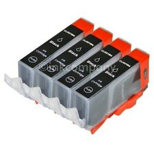 4 CANON Tintenpatronen + Chip CLI-521 bk MP 540 MP 550 MP 560 MP 980 NEU