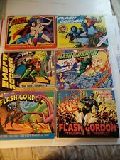 FLASH GORDON COMPLETE SERIES 1-6 KITCHEN SINK PRESS HC COLOR BOOKS 1ST. EDITION