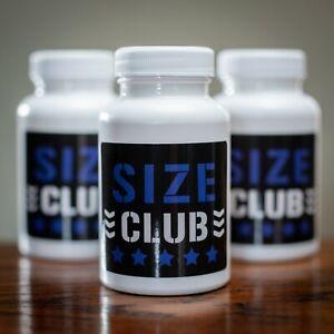 SIZE CLUB - PENIS ENLARGEMENT PILLS - GAIN 4 INCHES NOW!! 30 CAPSULES PER BOTTLE