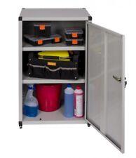 Metallschrank Werkzeugschrank Werkstattschrank Büroschrank 60x44x93 cm Grau Top