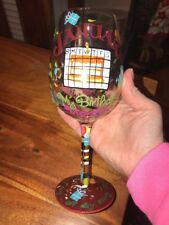 "Lolita Wine Glass ""January Birthday Month"" (CT)"