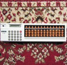 """Official SHARP abacus calculator """"Sorocal"""" EL-8048 / Used good (made in Japan)"""