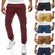 Slim-Fit-Herrenhosen aus Baumwollmischung