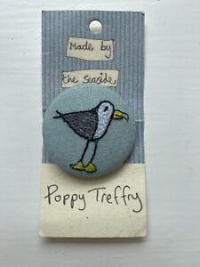 Poppy Treffry Seagull Pretty Badge