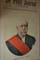 Supplémént illustré Le Petit Journal N°213 / 16-12-1894/ Ferdinand de Lesseps