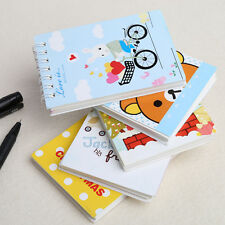 Stationery Spiral Coil Note Book Journal Diary Notepad Memo Portable Notebook