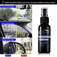 Car Windshield Glass Coating Agent Hydrophobic Water Rain Repellent Spray +Towel