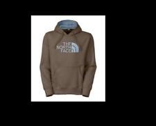 The North Face Men's Half Dome Hoodie Weimaraner Brown/Faded Denim Size Medium