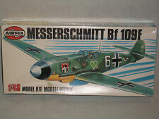 Airfix 1/48 Scale German Messerschmitt Bf 109F - Factory Sealed