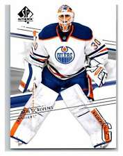 (HCW) 2014-15 Upper Deck SP Authentic #123 Ben Scrivens Oilers NHL Mint