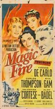 MAGIC FIRE Movie POSTER 20x40 Yvonne De Carlo Rita Gam Valentina Cortese Carlos