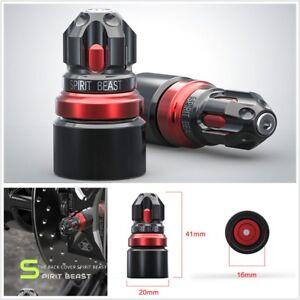 1 Pair Motorcycle Rear Trim Screw Caps High Quality Aluminum Alloy Anticorrosion
