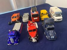 Diecast Modrel Car Kintoy school bus ice cream truck hot rod truck & 4 other car
