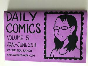 Daily Comics #5 Chelsea Baker mini comic 2011 VF