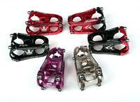 KRSEC Aluminum Alloy Stems MTB BMX Road Bike 1 1/8 Handlebar Stem 28.6*31.8*50mm