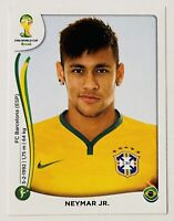 Neymar Jr 2014 Brasil Panini World Cup FIFA Soccer Sticker #48