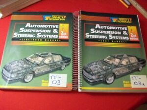 TODAY'S TECHNICIAN SERIES EDUCATIONAL PROGRAM- SUSPENSION & STEERING SYSTEMS SET