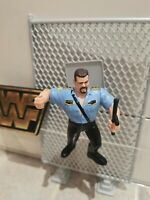 WWF WWE Hasbro Wrestling Figure Big Boss Man With Nightstick Series 3 1992