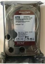 WD Red 6TB NAS Hard Disk Drive - 5400 RPM Class SATA 6Gb/s Brand New