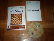 Wii ECHECS...jeu complet...sur Wii