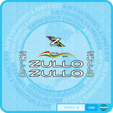 Zullo Bicycle Decals - Transfers - Stickers - Set 1
