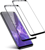 Samsung Galaxy S9 Plus Screen Protector Premium Tempered Glass Clear 3D HD 2PACK