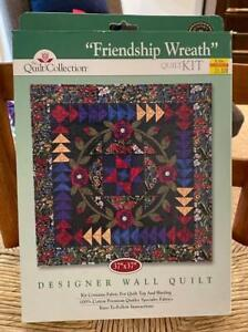 """The Quilt Collection """"Friendship Wreath"""" Quilt Kit UNOPENED"""