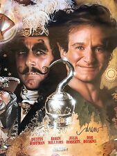Hook Signed Poster Artist Drew Struzan - Peter Pan Speilburg Authentic and rare