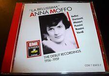 "ANNA MOFFO ""La Bellissima"" Debut Recordings (CD 1990) ***GOOD*** OOP"