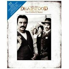 New!! Deadwood - The Complete Series (Blu-ray Disc, 2010, 13-Disc Set, DigiBook)