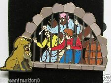 Disney Pirates of the Caribbean Jail Key Scene Pin