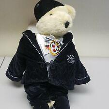 Cornelius VanderBear Plush Bear  - Portrait in Black and White Collection