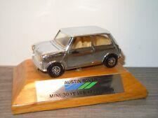 "Austin Rover "" Mini 30 Years 1959 - 1989 "" - Corgi - Chrome Promo Model *33628"
