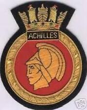 British HMS HMNZS Royal Navy Achilles Cruiser Graf Spee Patch Badge Ship Battle