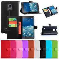 NEW Leather Wallet Case Cover for Samsung Galaxy Note Edge